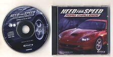 Gioco Pc Cd NEED FOR SPEED ROAD CHALLANGE - Electronic Arts 1999 ITALIANO