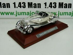 SIL18i-VOITURE-1-43-IXO-CHROME-PACKARD-V12-le-baron