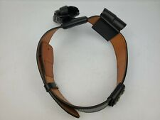 Dutyman 1011u Black Leather Belt Size 34 Police Security With Attachments