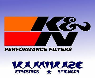 ADHESIVE STICKER STICKER AUTOCOLLANT ADESIVI AUFKLEBER DECAL K/&N KN FILTERS