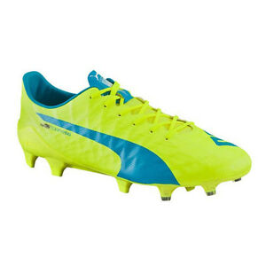 Puma-Men-039-s-EvoSpeed-SL-S-FG-Safety-Yellow-Atomic-Blue-White-103731-01