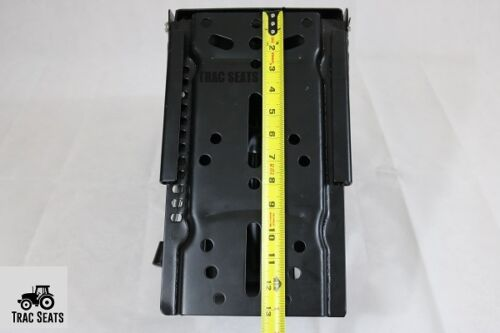 BLACK JOHN DEERE 5400 5410 6110 WAFFLE UNIVERSAL TRACTOR SUSPENSION SEAT
