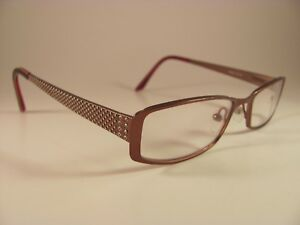 553bd9eda0f0 Jill Stuart JS005-1 Women s Studded Copper Full-Rim RX Eyeglass ...