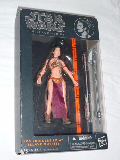 "Star Wars The Black Series Princesse Leia Slave Outfit #05 série 6/"" 2 A4631"
