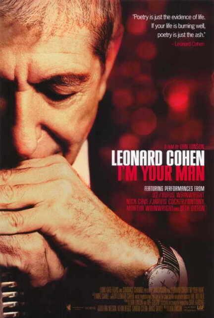 Leonard Cohen I/'m  Your Man Repro POSTER