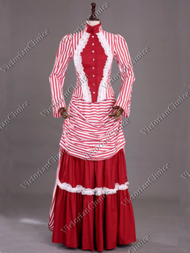 Victorian Dresses | Victorian Ballgowns | Victorian Clothing    Victorian Edwardian Steampunk Mary Poppins Bustle Dress Ball Gown Steampunk 139 $165.00 AT vintagedancer.com