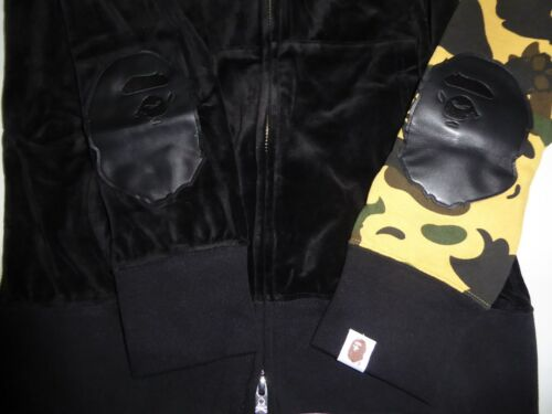 Mastermind Bape Camo S Velvet 1st 12495 Japan X Yellow Hoody O16OdU