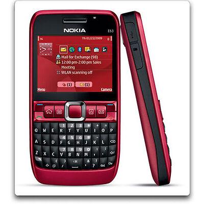 Nokia E63- Red