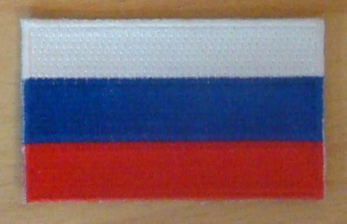 RUSSIA Country Flag Embroidered PATCH Badge
