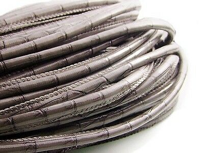 Stitched Leather Cord Different color available for making Leather Bracelets