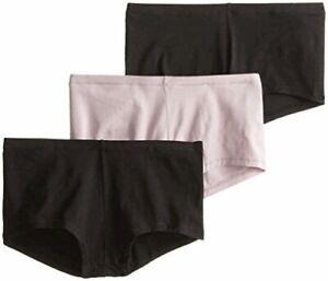 Ekouaer Boyshort Panties Womens Soft, Nude/Pink/Rose Red