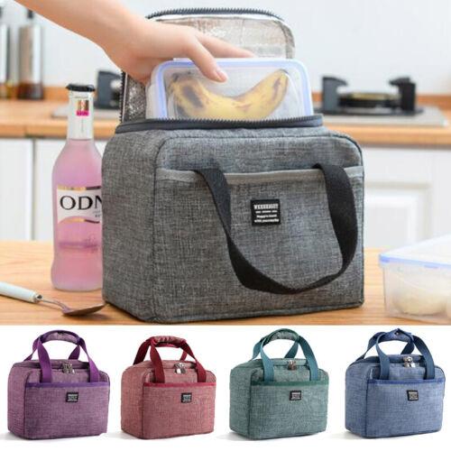 Wasserdichte Kühltasche Thermo Brottasche Frühstückstasche Brotdose Lunchtasche