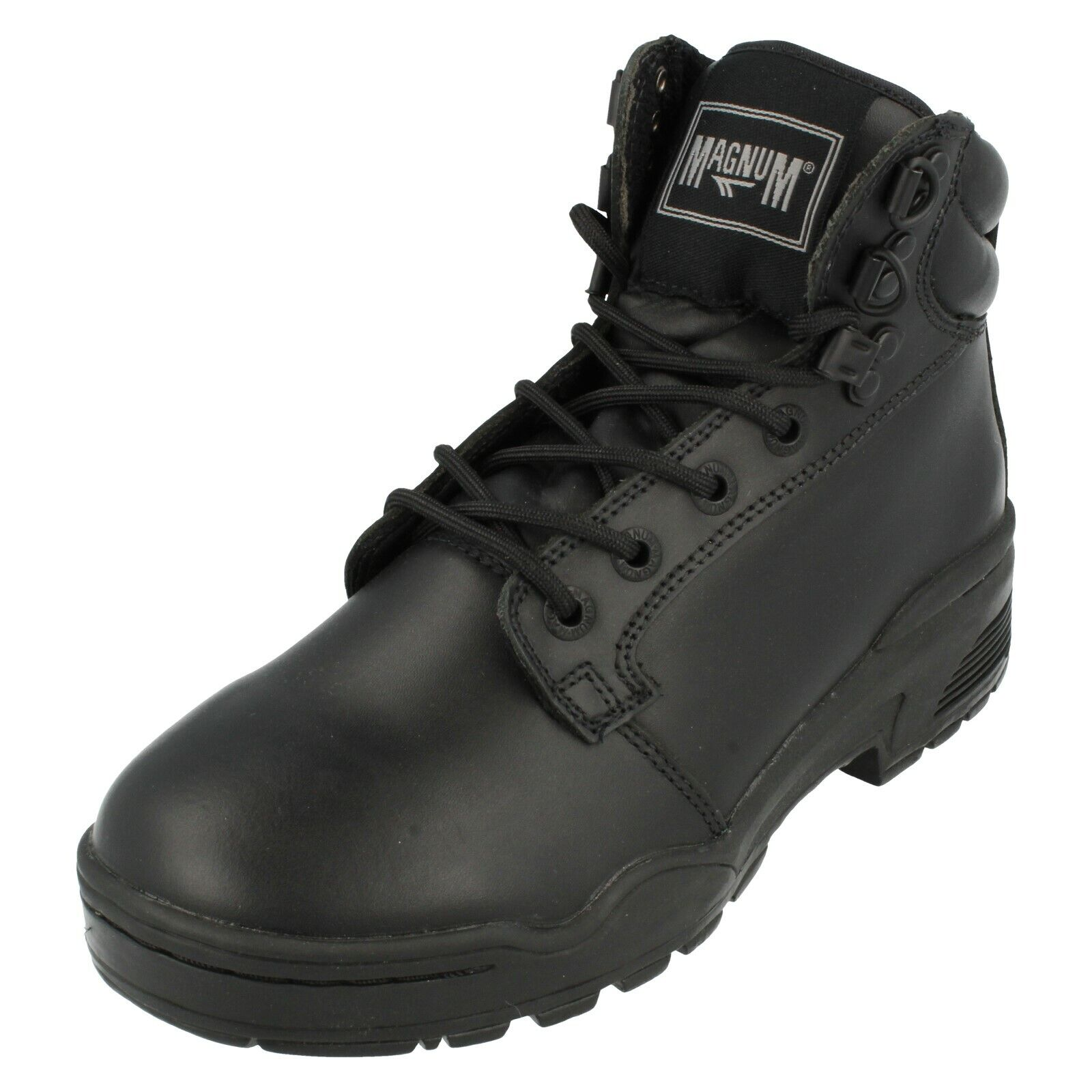 Unisex Magnum Lace Up Leather Work Boots : Patrol