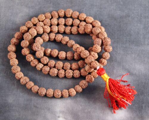 Feine Rudraksha-Mala 5mm ~ SHIVA ~ Original aus Nepal 1379
