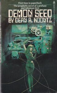 Dean-R-Koontz-Demon-Seed-Bantam-N7190-1973-1st-edition-940179