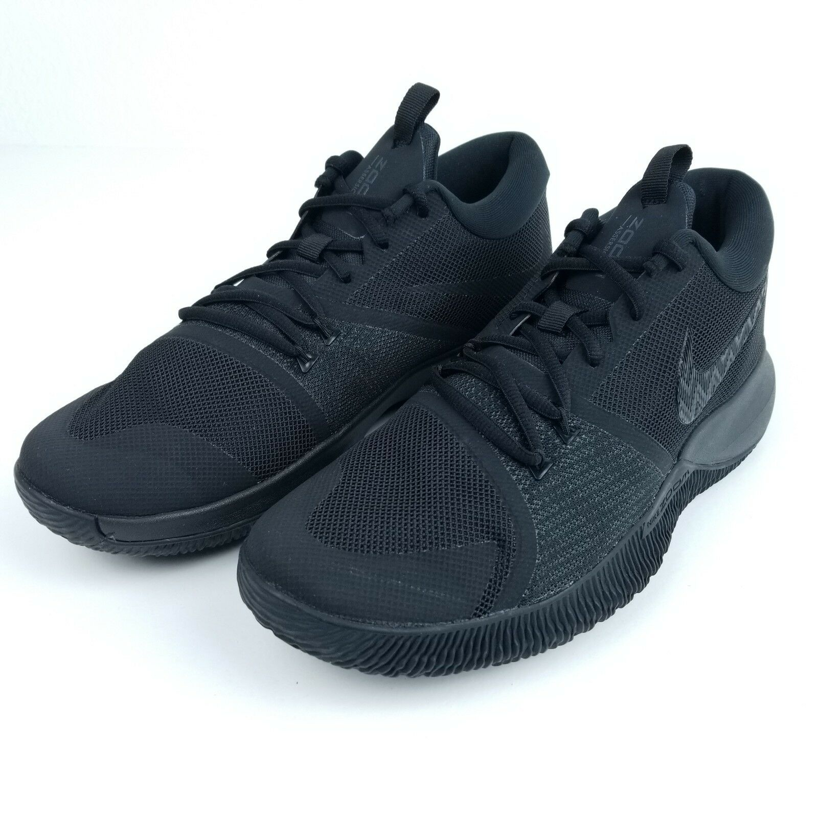 Nike Zoom Assersion Men's Basketball shoes 917505 002 Black Black Sizes