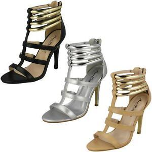 Anne Michelle f1r0511 da donna tacco alto stile gladiatore Sandali r28b J
