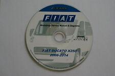 FIAT DUCATO x250 2006-2014 Reparaturanleitung  Werkstatthanduch Elearn orginal