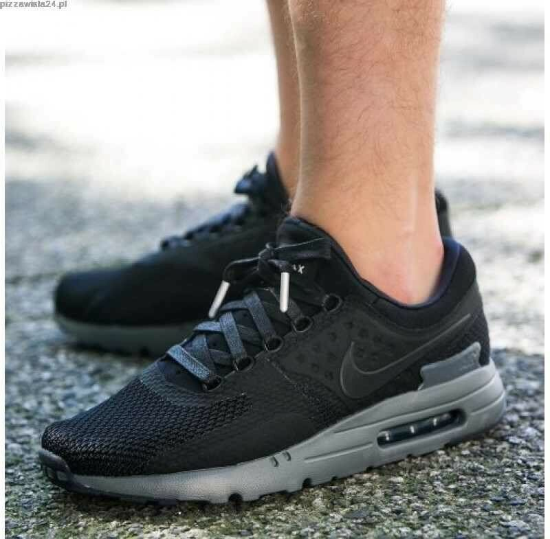 Nike Air Max Zero QS Noir Gris Taille UK 10 EUR 45 789695 001-