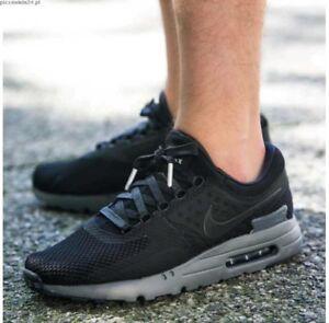 5444d9859256 Nike Air Max Zero QS Black Grey UK Size 11 EUR 46 789695 001