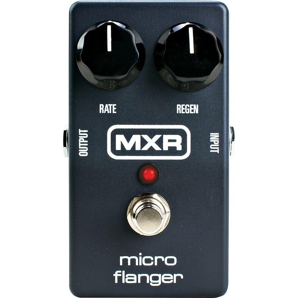 MXR Micro Flanger Effects Pedal M152 Guitar FX pedal Flange