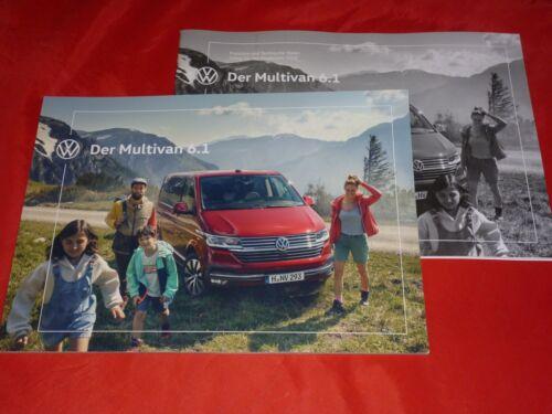 VW Multivan 6.1 Trendline-generazione Six prospetto BROCHURE LISTINO PREZZI 2019
