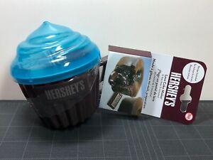 Hershey S Lava Cake Maker Microwave Cupcake Holder Brown Blue New In Package Ebay