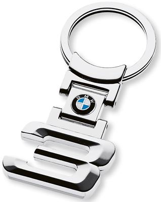 Schlüsselanhänger Auto Schlüssel Anhänger Silber KFZ BMW Neu