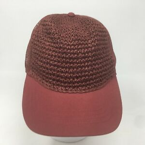 4f6a302505e97 Goodfellow   Co Men s Baseball Hat - Crocheted Front With Mesh Back ...