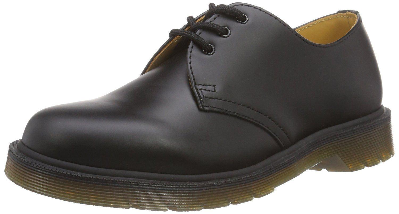 Dr Martens 1461 Black Leather Unisex Shoes