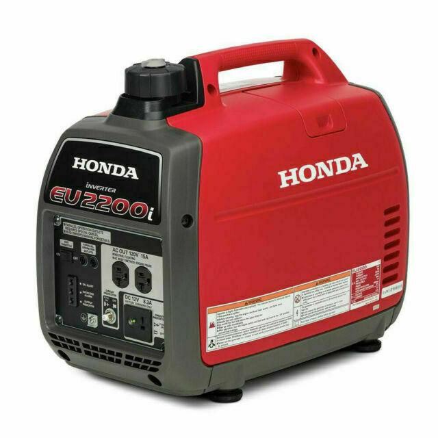 Honda Eu2200i Portable Inverter Generator 662220 For Sale Online Ebay
