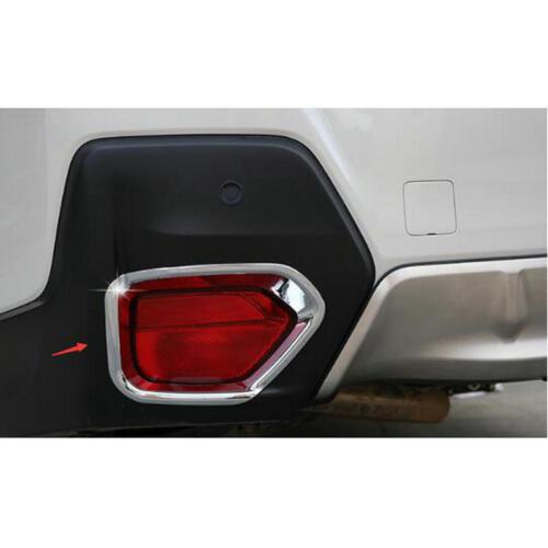 Car ABS Chrome Rear Fog Light Trim Cover for Subaru XV hatchback Crosstrek 2018