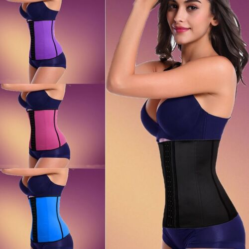 Quality Latex Shaper Waist Clincher Corset Training Back Support Protection Belt