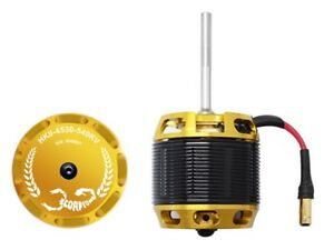 Scorpion-HKII-4530-540Kv-Brushless-Helicopter-Motor-6mm-55mm-700-Class-NEW