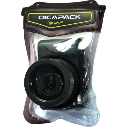 Dicapac Wp-570 Impermeable Funda Para Rx100 Lx7 P5000 Sx240hs D-lux6 grd4 Xz-1