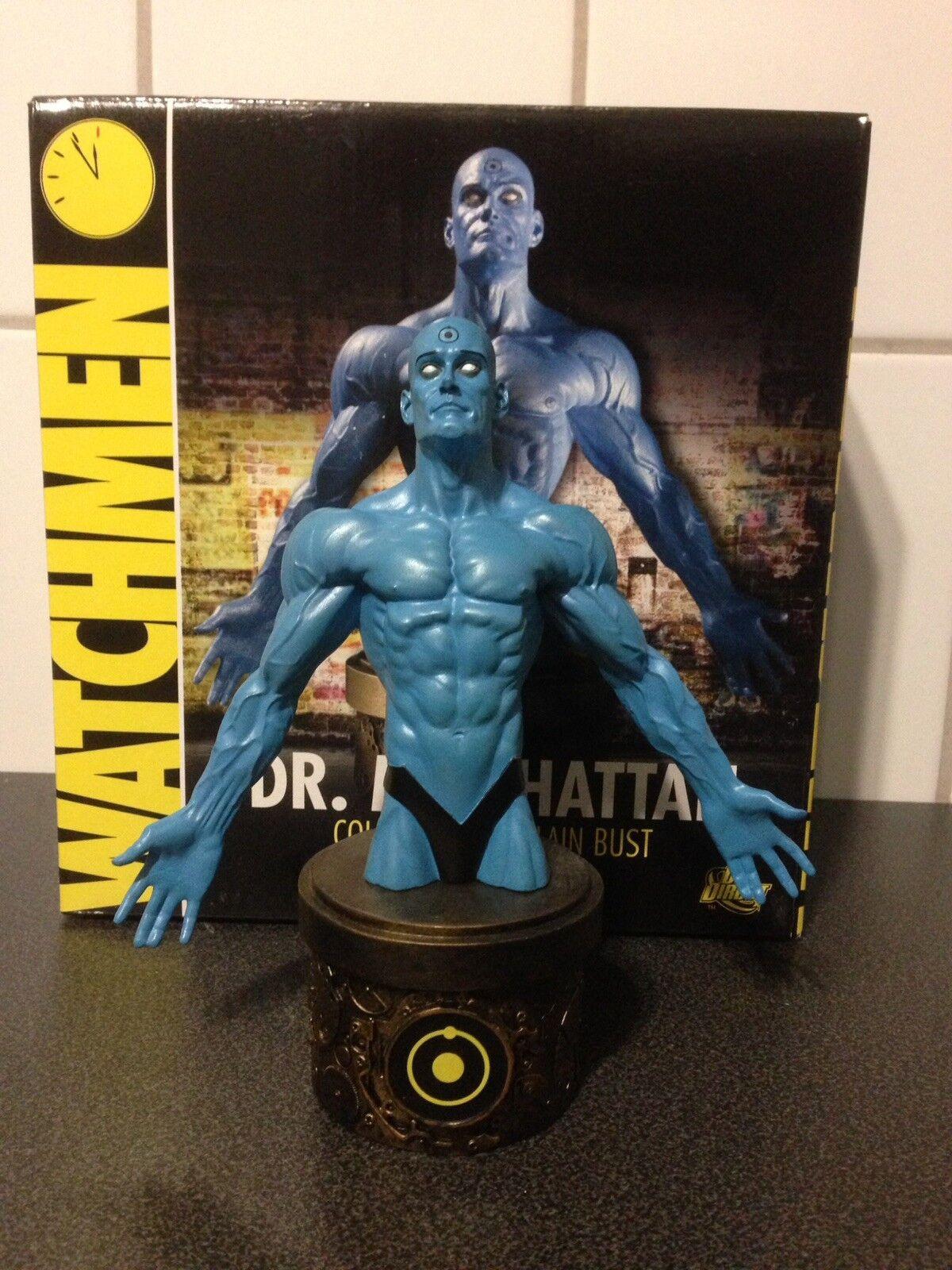 DC Comics Watchmen Dr. Manhattan Bust Alan Moore Dave Gibbons