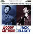 The Musical Grandfather and Father of Bob Dylan by Ramblin' Jack Elliott/Woody Guthrie (CD, Jun-2008, 2 Discs, Avid)