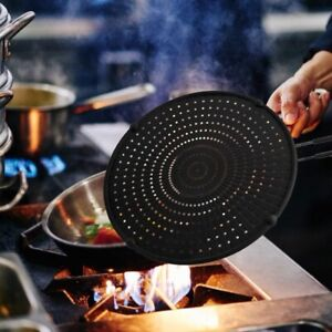32cm-Silicone-Splatter-Screen-Guard-Nonstick-Oil-Grease-Pan-Lid-for-Frying-U5W7