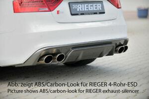 Audi-A5-S-Line-amp-S5-Coupe-2012-2016-RIEGER-Rear-Bumper-Diffuser-Gloss-Black
