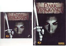 Dark Vengeance-Juego de PC-rápido post-Edición Original jc con manual de gran tamaño