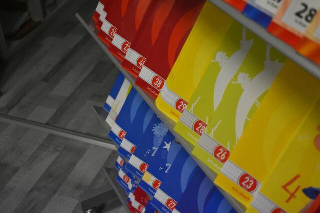 Lineatur 28 DIN A4 16 Blatt 5 Herlitz Schulhefte