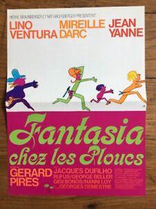 FANTASIA-CHEZ-LES-PLOUCS-avec-LINO-VENTURA-MIREILLE-DARC-JEAN-YANNE-Synopsis