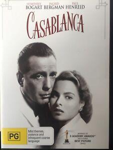 CASABLANCA-DVD-1942-AS-NEW-Humphrey-Bogart-Ingrid-Bergman