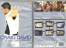 CRAIG DAVID - OFF THE HOOK.. LIVE AT  WEMBLEY- DVD (NUOVO SIGILLATO)