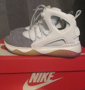 new styles 23744 0dd30 Image is loading New-Nike-Air-Flight-Huarache-Ultra-GS-White-
