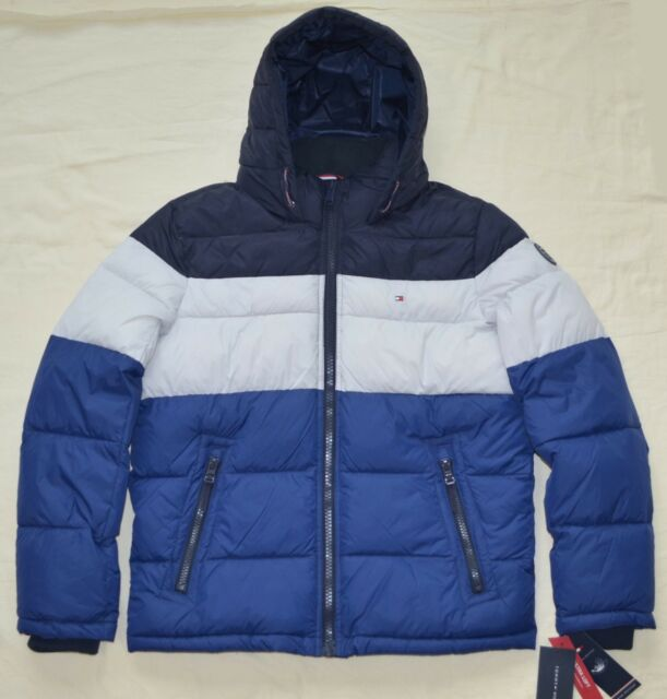 Xxl 2xl Tommy Hilfiger Mens Quilted Padded Puffer Winter Jacket Coat