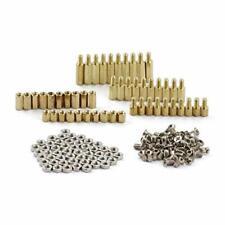 Zyamy 150pcs M3 Hex Brass Spacer Standoff Circuit Spacer Pcb Board Nut Screws