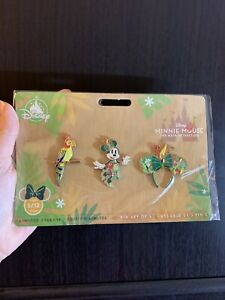 Disney-Minnie-Mouse-The-Main-Attraction-PINS-set-Tiki-Room-Jungle-May-2020-NEW