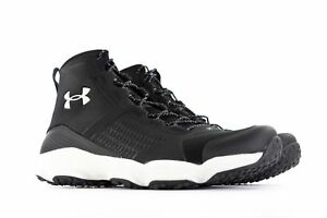 0a373a80889 Details about NEW SZ 12 MEN'S UNDER ARMOUR UA SPEEDFIT HIKE MID BOOTS BLACK  1257447-005