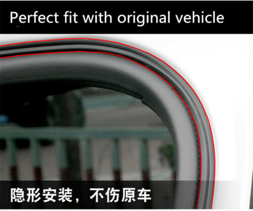 16ft Car Door Trunk Seal Strip Rubber Weather Strip Edge Moulding Trim L-Shape